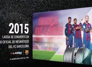 Lassa se convierte en socio oficial de neumáticos del FC. Barcelona
