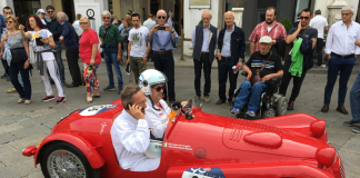 Los ganadores de BERU ® Live the Legend disfrutaron de tratamiento VIP en la Mille Miglia.