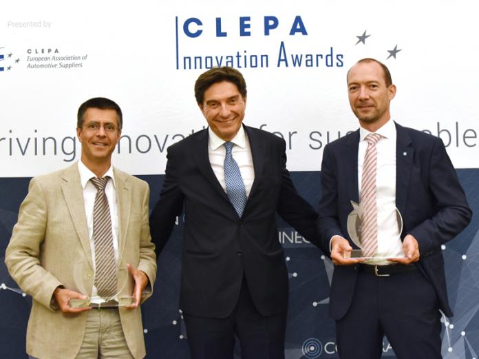 La tecnología EMA de ZF y WABCO, galardonada con el CLEPA Innovation Award 2017