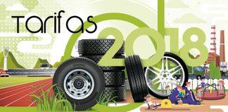 Tarifas de Signus Ecovalor 2018.