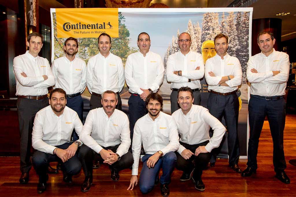 Equipo de Continental Tires España
