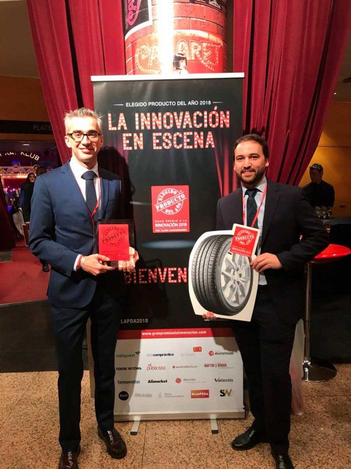 Bridgestone Driveguard, premio Innovación 2018