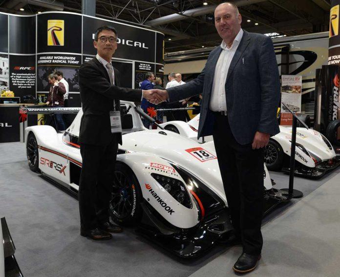 Hankook suministrará neumáticos a los deportivos Radical