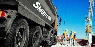 Hankook monta los camiones Scania