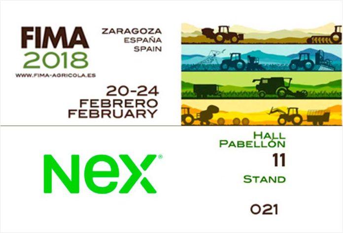 NEX expondrán en FIMA su gama de neumáticos agrícolas