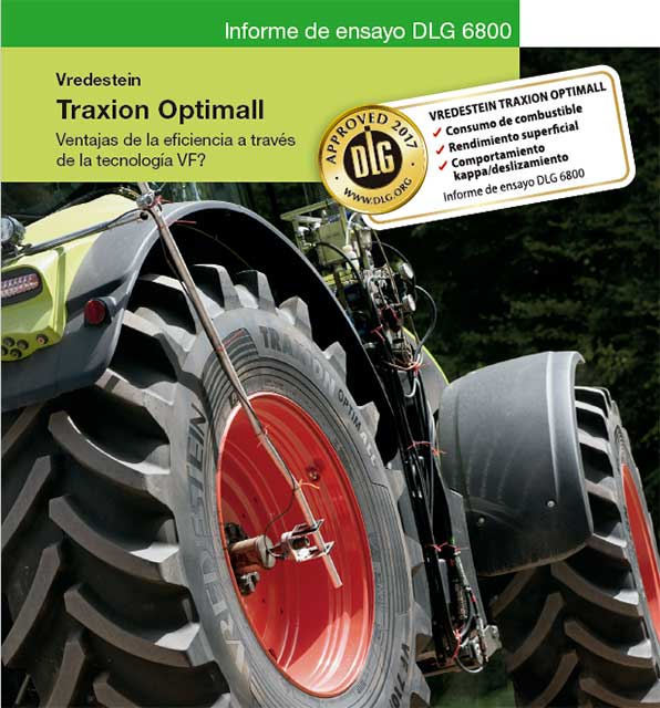 Neumático agrícola Vredestein Traxion Optimall