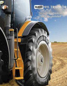 Nuevo Bridgestone VX Tractor.