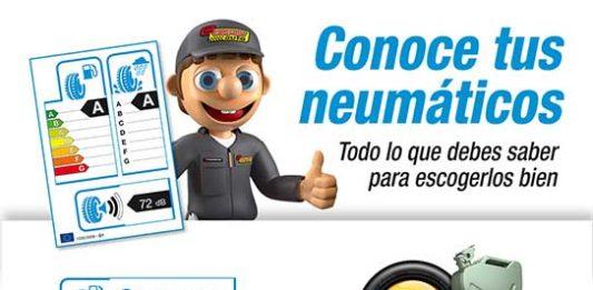 Etiqueta de los neumáticos
