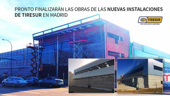 Nuevo almacén de neumáticos de Tiresur en Madrid