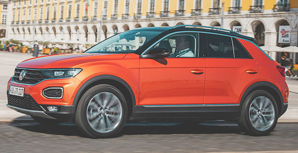 Falken equipará de serie el VW T-Roc