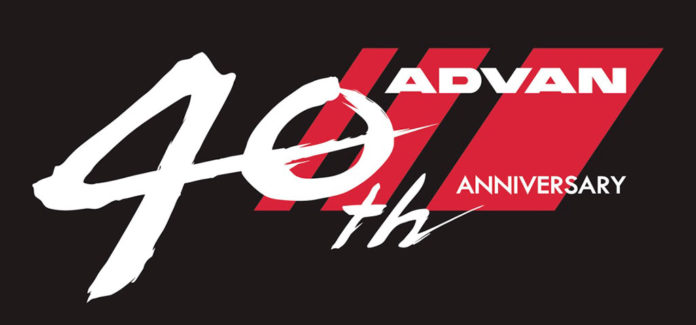 """Logotipo """"ADVAN"""" en su cuadragésimo aniversario"""