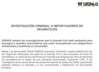 Signos investigación Guardia Civil.