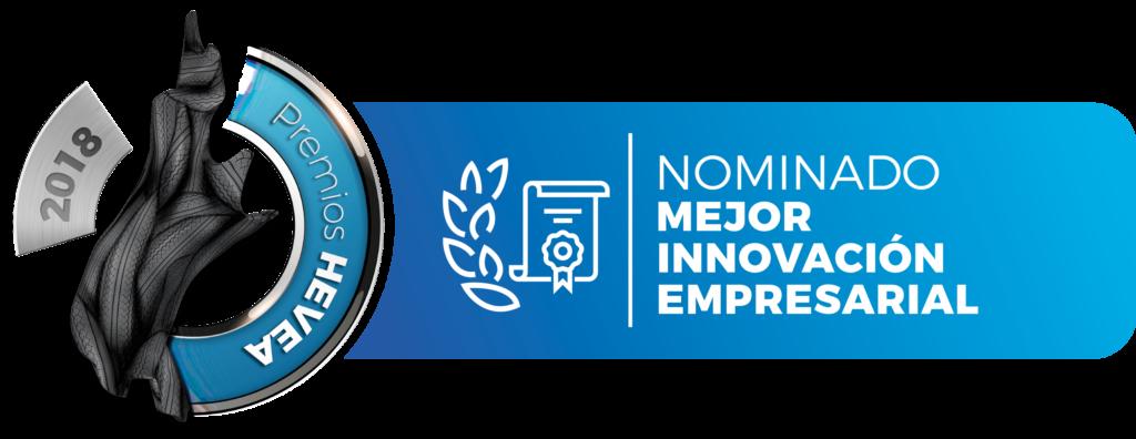 Nominados al premio Hevea a la mejor innovación empresarial