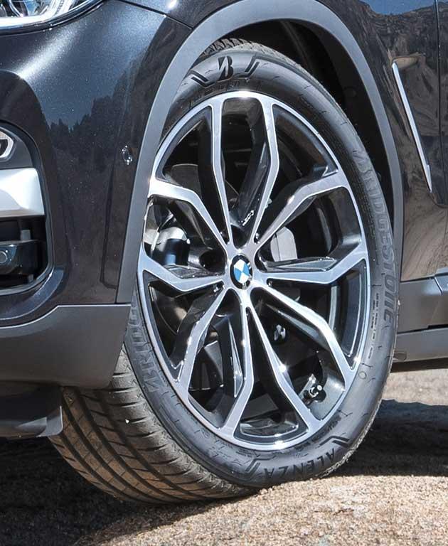 Bridgestone en BMW X3