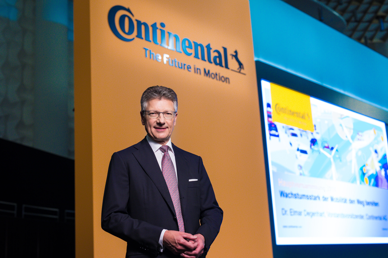 Elmar Degenhar, director general de Continental AG.