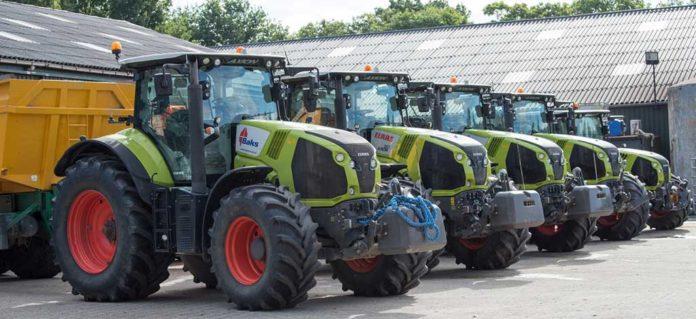 Neumáticos agrícolas Vredestein en tractores Class