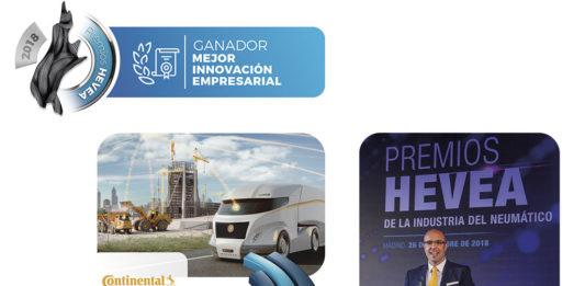 Continental gana en los Premios Hevea 2018