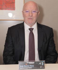 Juan Ramón Pérez, director general de Confortauto Hankook Masters.