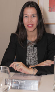 Rebeca Nieto, directora comercial de Michelin España Portugal.