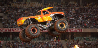 BKT Monster Jam Tires