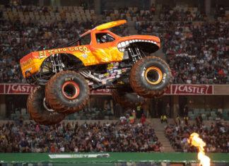 BKT Monster Jam Tires