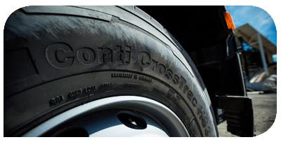 Nominado Mejor Neumático de Camión - Premios Hevea 2019 -Continental