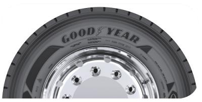 Nominado Mejor Neumático de Camión - Premios Hevea 2019 -Goodyear