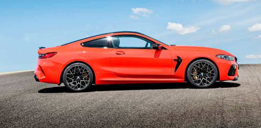 Pirelli en BMW M8
