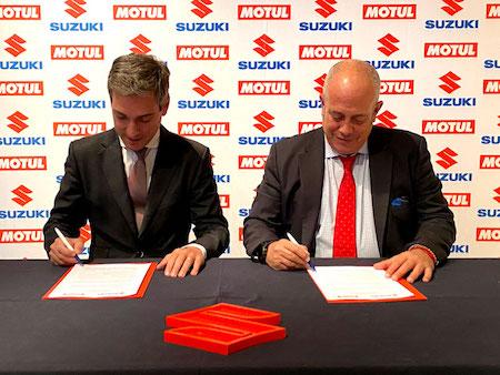 Motul y Suzuki Ibérica