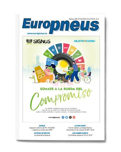 portada europneus noviembre diciembre 2019