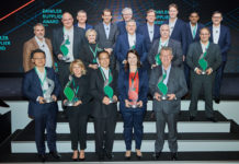 Brembo recibe el Daimler Supplier Award in Sustainability 2019