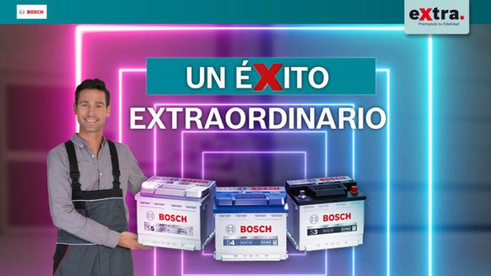 campaña de baterías Bosch