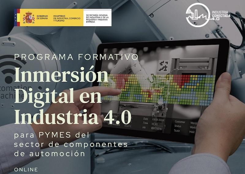 Programa de Inmersión Digital en Industria 4.0