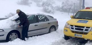 El RACE atendió más de 1.500 coches atascados por la borrasca 'Filomena'