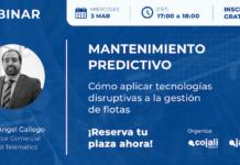 Cojali convoca el webinar 'Mantenimiento predictivo'