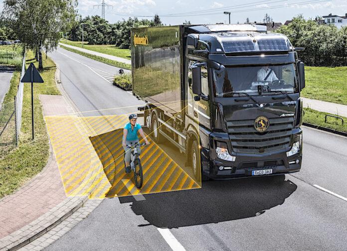 Continental lanza el sistema de asistencia de giro RightViu