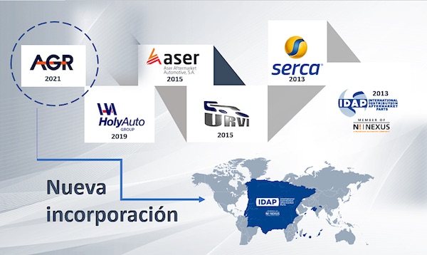 IDAP anuncia la incorporación del Grupo AGR