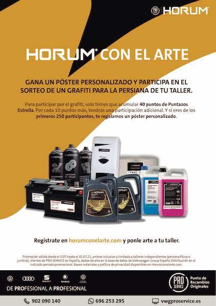 HORUM CON EL ARTE