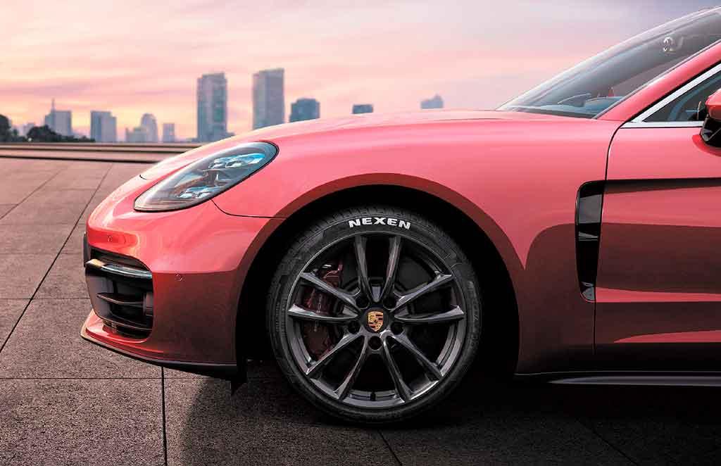 Nexen en Porsche Panamera