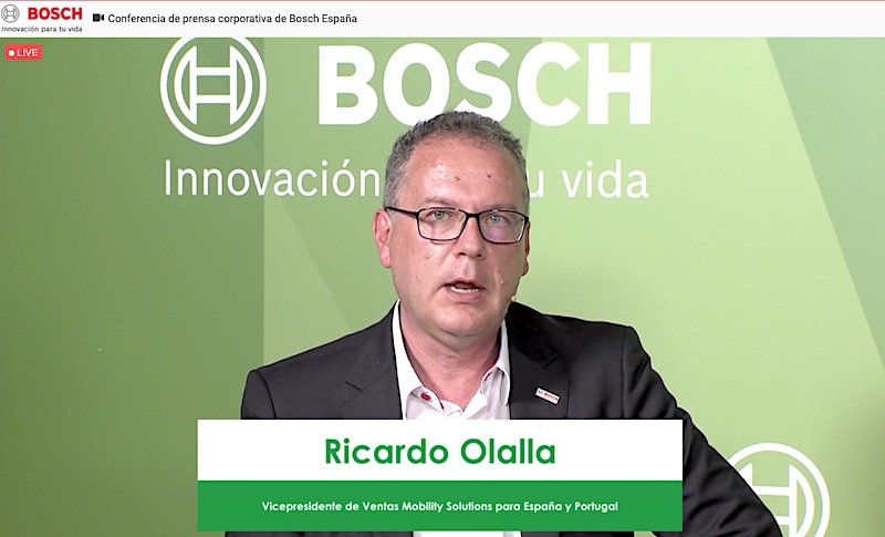 Ricardo Olalla, vicepresidente de Ventas Mobility Solutions para España y Portugal