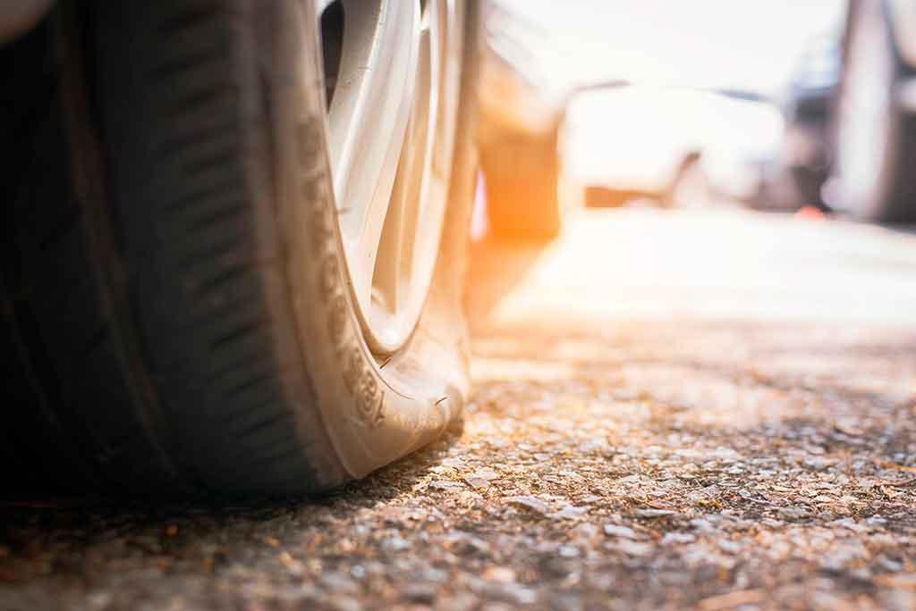 peligroso efecto calor neumáticos