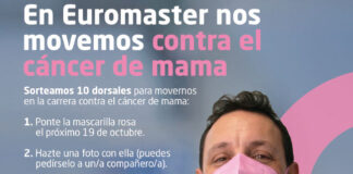 Euromaster lucha contra cáncer de mama